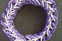 Stretchy Interwoven European 4-in-1 Bracelet (top view)