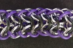 Stretchy Interwoven European 4-in-1 Bracelet (side view)